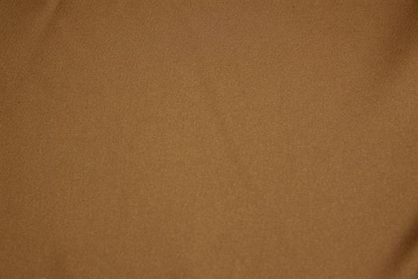 """Fed"" polyester satin med stretch - beige"