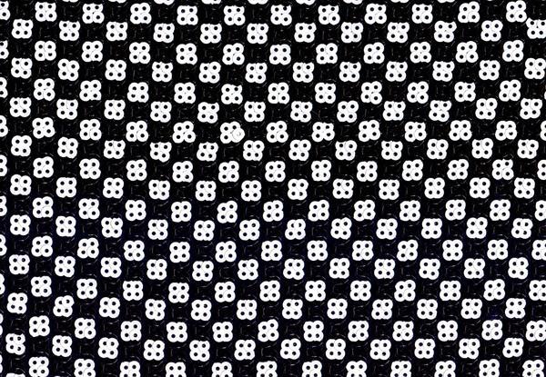 sort hvid stof